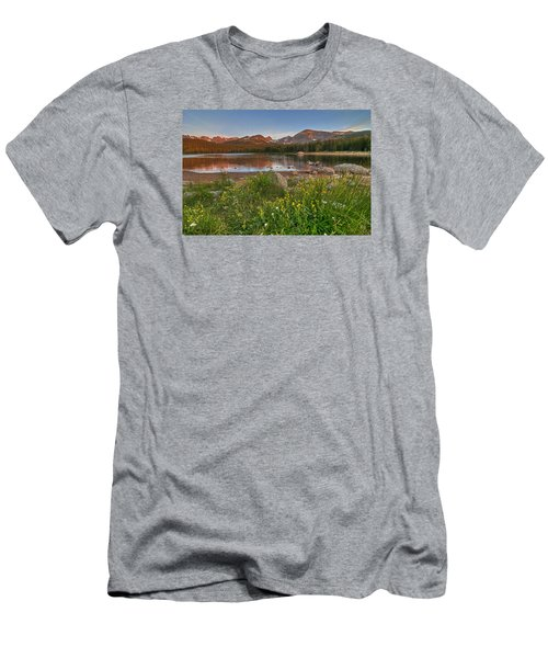 Brainard Lake Men's T-Shirt (Slim Fit) by Gary Lengyel