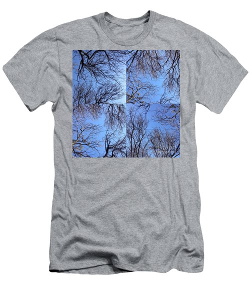 Men's T-Shirt (Slim Fit) featuring the photograph Branches by Nora Boghossian