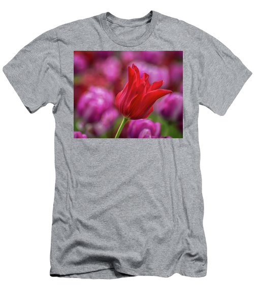 Men's T-Shirt (Athletic Fit) featuring the photograph Brazenly Delicate by Bill Pevlor