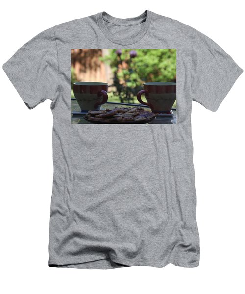 Men's T-Shirt (Slim Fit) featuring the photograph Breakfast Time by Vadim Levin