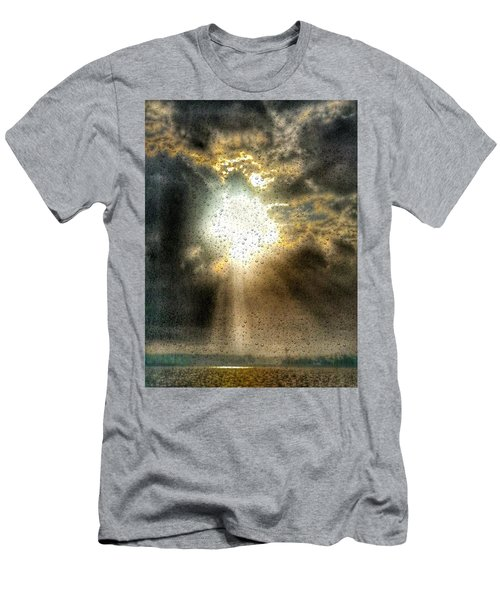 Breaking Through Men's T-Shirt (Athletic Fit)