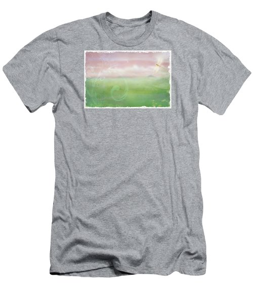 Breath Of Spring Men's T-Shirt (Slim Fit) by Christina Lihani