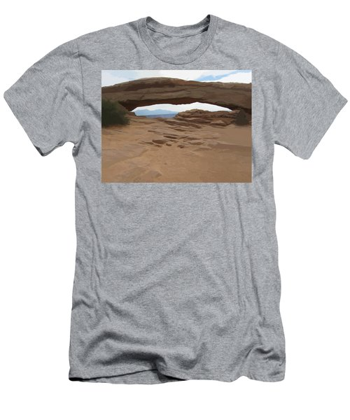 Breezy Bridge Men's T-Shirt (Athletic Fit)