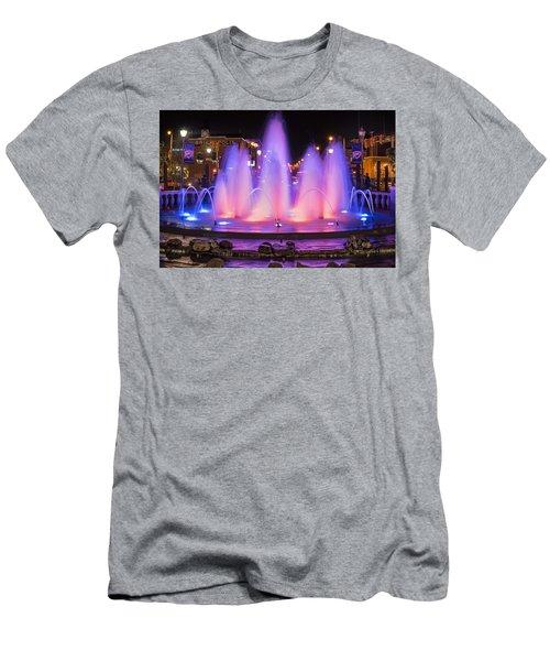 Bricktown Fountain Men's T-Shirt (Slim Fit)