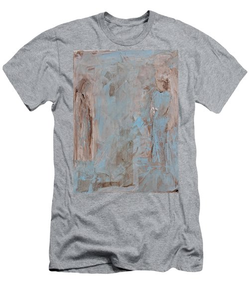 Bride Angel/ Blessed Mother Men's T-Shirt (Athletic Fit)