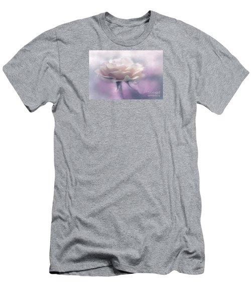Bridesmaid Rose Men's T-Shirt (Slim Fit) by Jean OKeeffe Macro Abundance Art