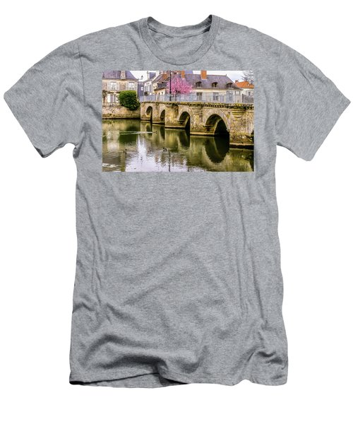 Bridge In The Loir Valley, France Men's T-Shirt (Athletic Fit)