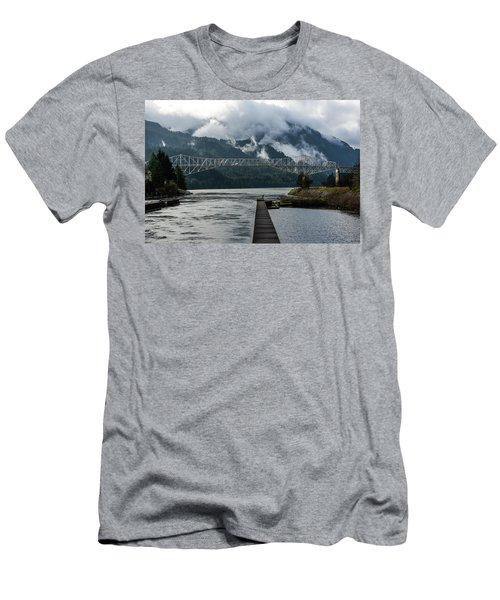 Bridge Of The Gods Men's T-Shirt (Athletic Fit)