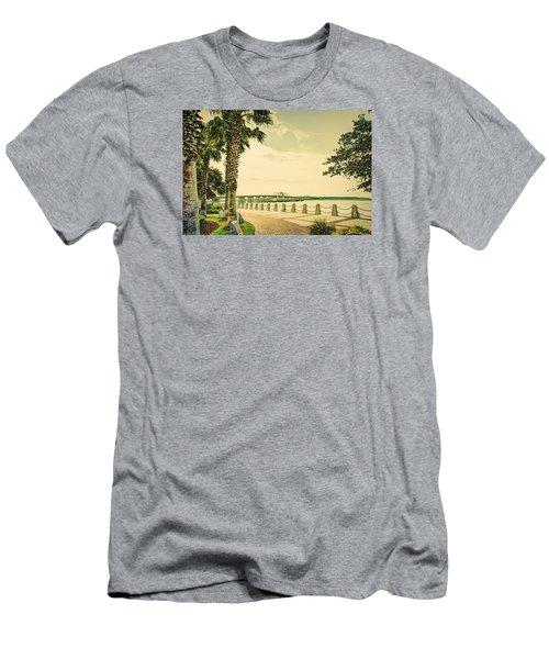Bridge To Ladys Island Men's T-Shirt (Athletic Fit)