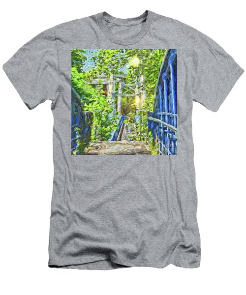 Men's T-Shirt (Athletic Fit) featuring the photograph Bridge To Your Dreams by LemonArt Photography