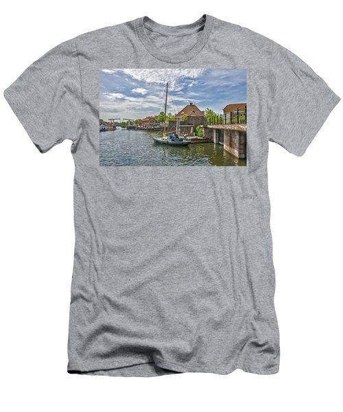 Brielle Harbour Men's T-Shirt (Slim Fit) by Frans Blok