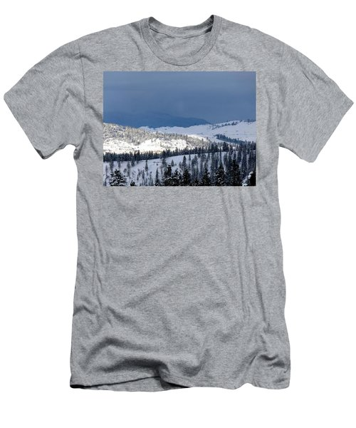 Men's T-Shirt (Slim Fit) featuring the photograph Bright Patch Of Sunshine by Will Borden