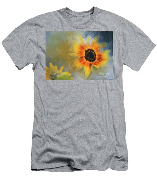 Brighter Than Sunshine Men's T-Shirt (Slim Fit) by Eva Lechner
