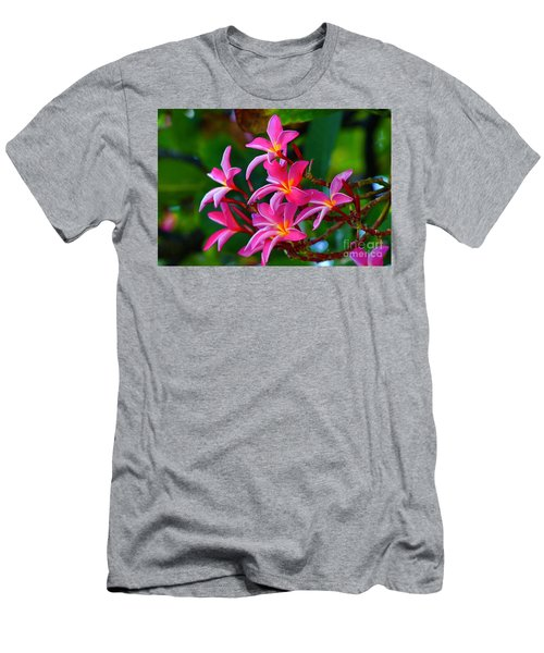 Brilliant Plumeria Men's T-Shirt (Athletic Fit)