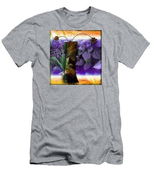 Bring Wonderland Home Men's T-Shirt (Slim Fit) by Iris Gelbart