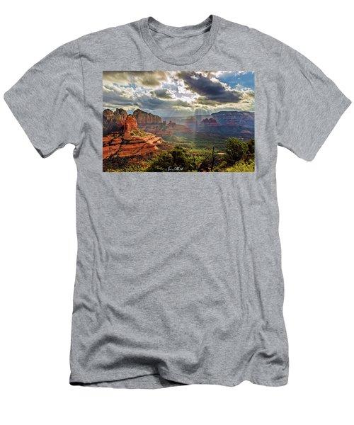Brins Ridge 04-053 Men's T-Shirt (Athletic Fit)