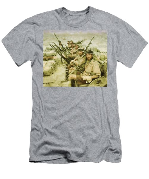 British Sas Men's T-Shirt (Athletic Fit)