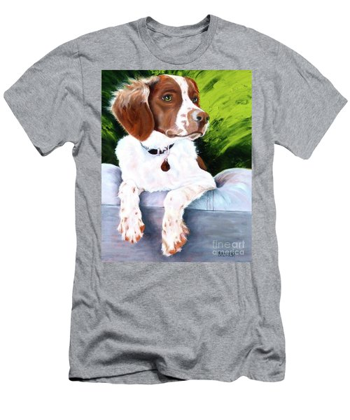 Brittany Spaniel Men's T-Shirt (Athletic Fit)