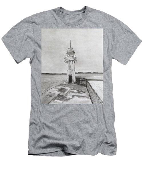 Brixham Lighthouse  Men's T-Shirt (Athletic Fit)