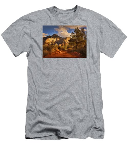 Broken Arrow Trail Pnt Men's T-Shirt (Athletic Fit)