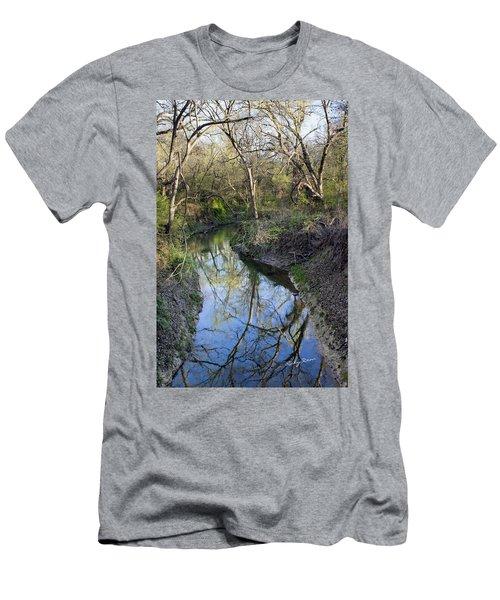 Broken Branch Creek Men's T-Shirt (Slim Fit) by Ricky Dean