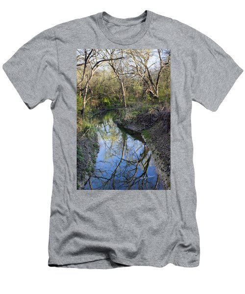 Broken Branch Creek Men's T-Shirt (Athletic Fit)
