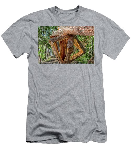 Broken In The Forest Men's T-Shirt (Athletic Fit)