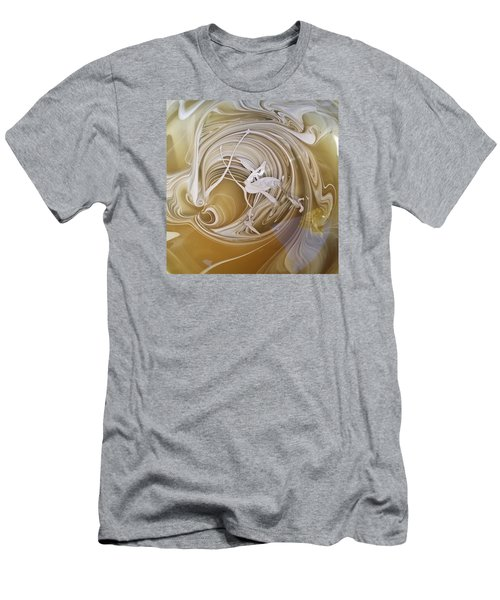 Broken Neck Flamingo Men's T-Shirt (Athletic Fit)
