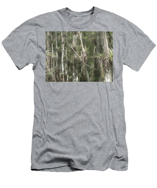 Bromeliads On Trees Men's T-Shirt (Athletic Fit)