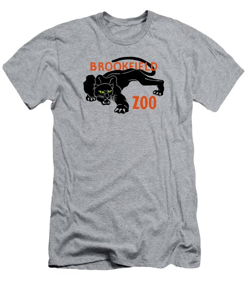 Brookfield Zoo Wpa Men's T-Shirt (Slim Fit) by War Is Hell Store