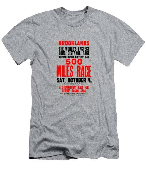 Brooklands 500 Mile Race 1930 Men's T-Shirt (Athletic Fit)