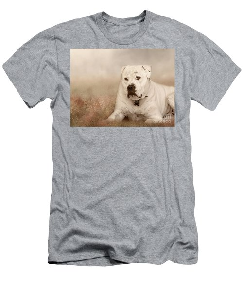 Men's T-Shirt (Slim Fit) featuring the photograph Brutus Dreaming by Elaine Teague