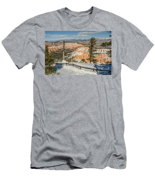 Bryce Amphitheater From Bryce Point Men's T-Shirt (Slim Fit) by Sue Smith