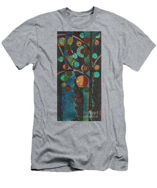 Bubble Tree - Spc02bt05 - Left Men's T-Shirt (Slim Fit) by Variance Collections