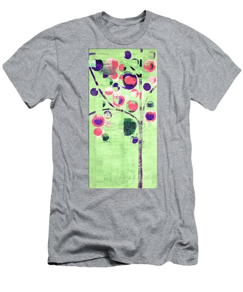 Men's T-Shirt (Slim Fit) featuring the digital art Bubble Tree - 224c33j5l by Variance Collections