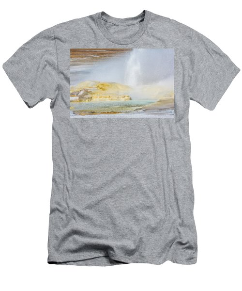 Men's T-Shirt (Athletic Fit) featuring the photograph Bubbling Earth by Colleen Coccia