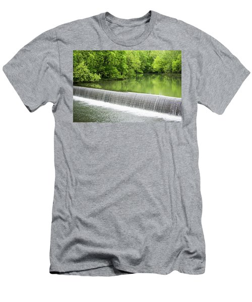 Men's T-Shirt (Slim Fit) featuring the photograph Buck Creek Greens by Parker Cunningham
