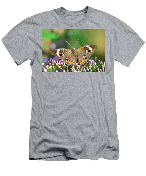 Buckeye Butterfly Men's T-Shirt (Athletic Fit)