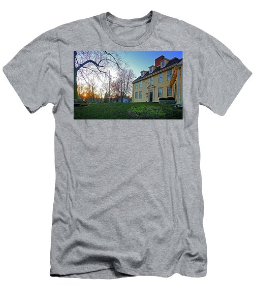 Buckman Tavern At Sunset Men's T-Shirt (Athletic Fit)
