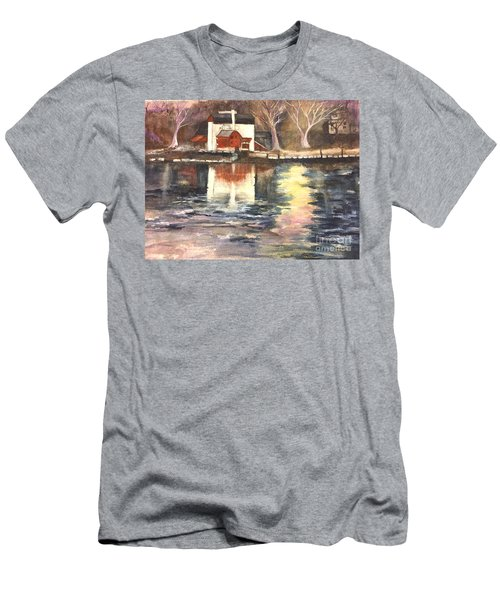 Bucks County Playhouse Men's T-Shirt (Slim Fit) by Lucia Grilletto
