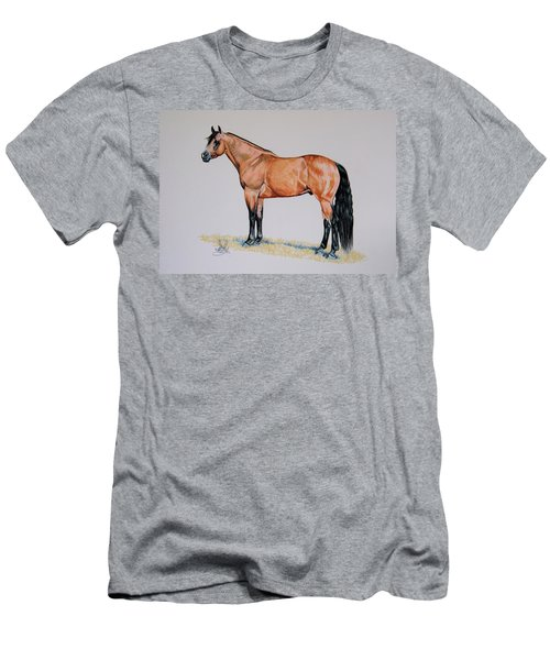 Buckskin Beauty Men's T-Shirt (Athletic Fit)