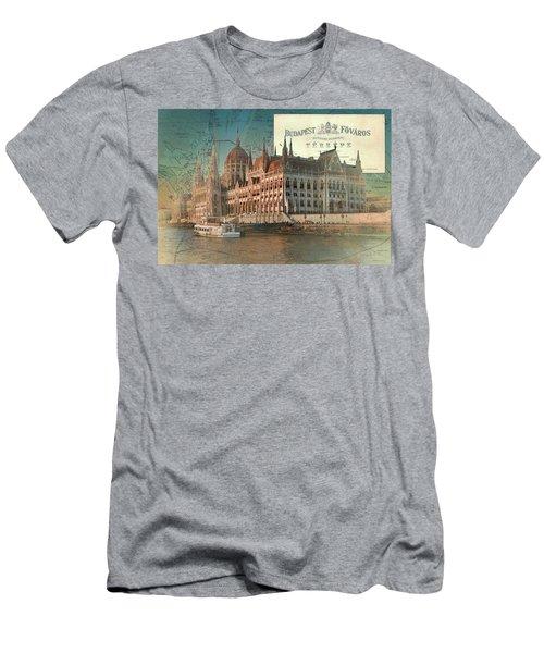 Budapest Fovaros Men's T-Shirt (Athletic Fit)
