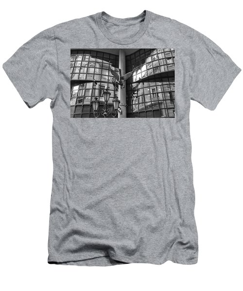 Budapest Reflections Men's T-Shirt (Athletic Fit)