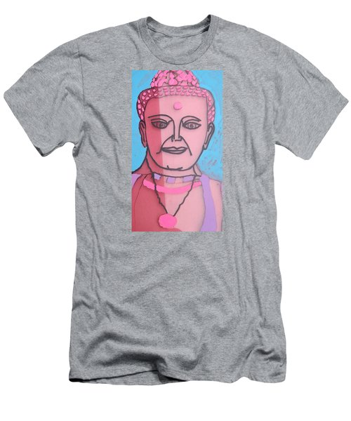 Men's T-Shirt (Slim Fit) featuring the painting Buddha Face by Don Koester