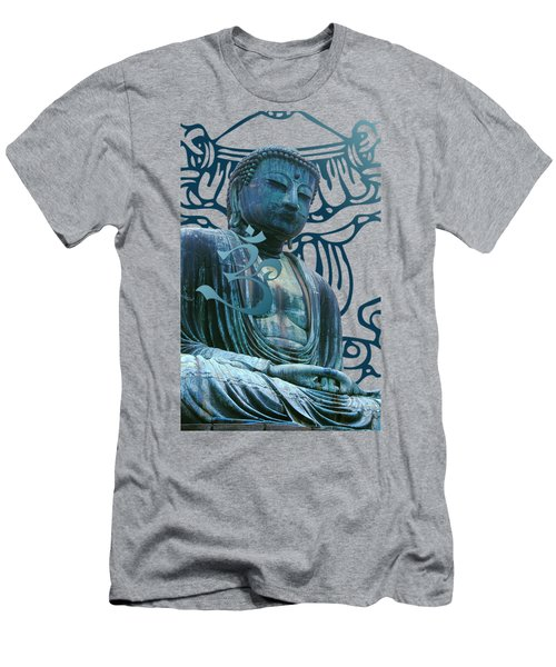 Buddha Great Statue Men's T-Shirt (Athletic Fit)