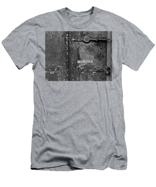 Men's T-Shirt (Slim Fit) featuring the photograph Buddha by Laurie Stewart