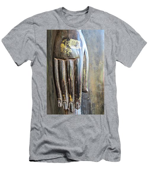 Budha's Hand Men's T-Shirt (Athletic Fit)