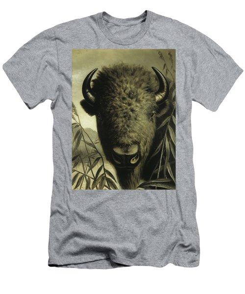 Buffalo Head Men's T-Shirt (Athletic Fit)