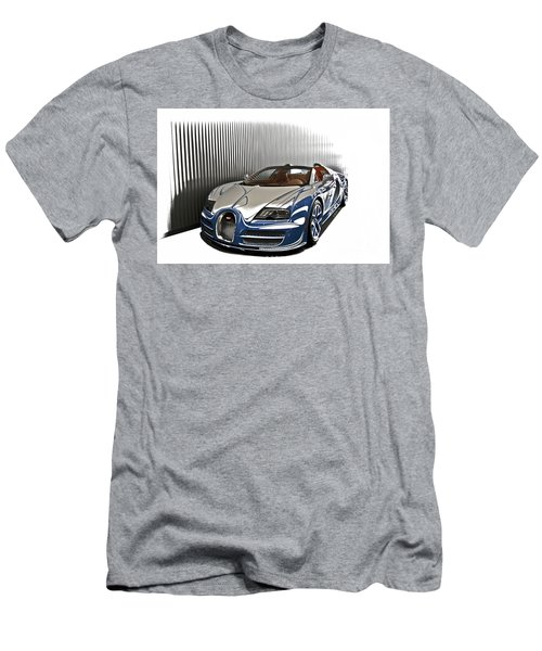 Bugatti V Men's T-Shirt (Athletic Fit)