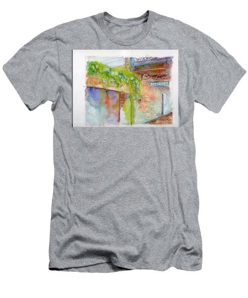 Bull Street Savannah Ga Men's T-Shirt (Athletic Fit)